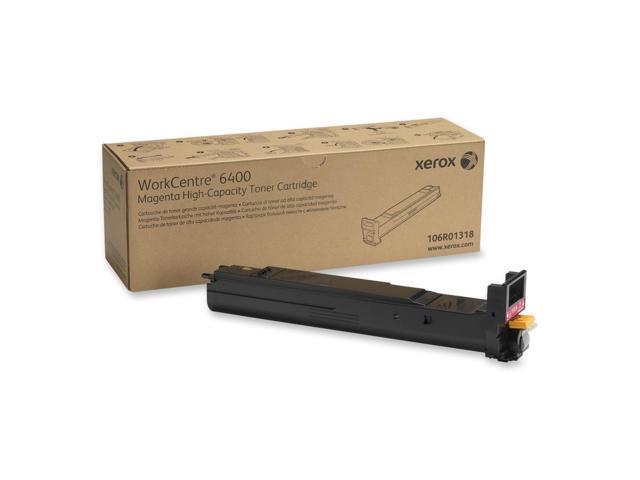 XEROX 106R01318 High Capacity Toner Cartridge Magenta For WorkCentre 6400