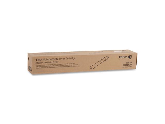 XEROX 106R01439 Toner Cartridge Black For Phaser 7500