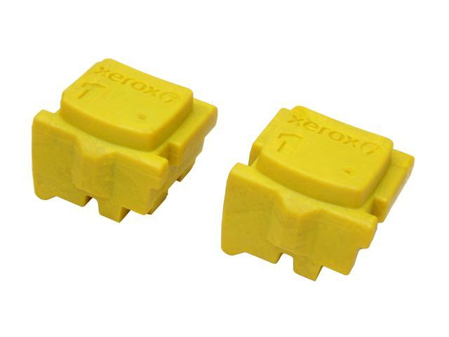 XEROX 108R00928 Solid Ink Stick (2 Sticks) Yellow for ColorQube 8570