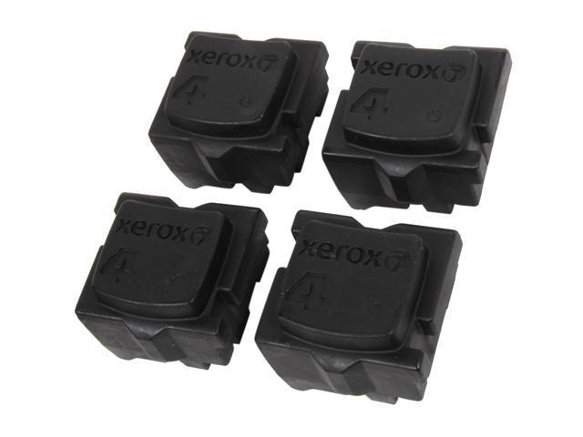 XEROX 108R00930 Genuine Solid Ink (4 sticks) Black for ColorQube 8570