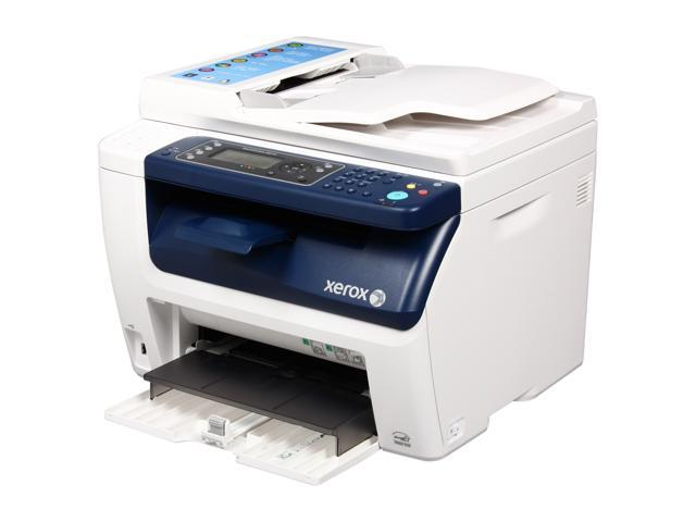 Xerox WorkCentre 6015/NI MFC / All-In-One Color Wireless 802.11b/g/n Laser Printer