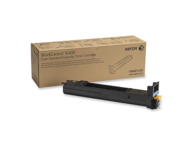 Xerox 106R01320 Standard Capacity Cyan Toner Cartridge for WorkCentre 6400