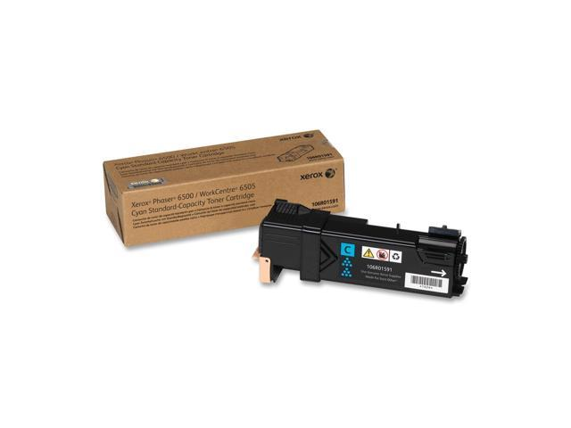 Xerox 106R01591 Standard Capacity Cyan Toner Cartridge for Phaser 6500/WorkCentre 6505