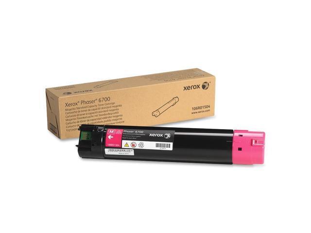 Xerox 106R01504 Toner Cartridge  Magenta for Phaser 6700