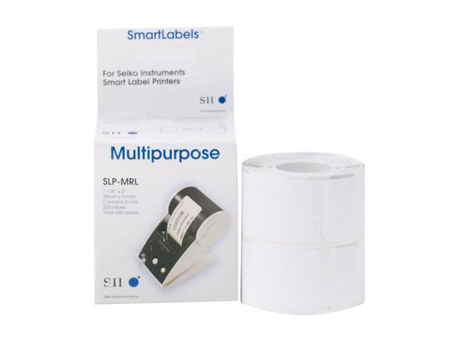 Seiko Instruments USA Multipurpose Label SLP-MRL-6PK