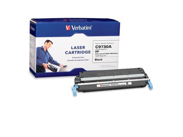 Verbatim 95351 Black Laser Cartridge for HP LaserJet 5500, 5550 Series
