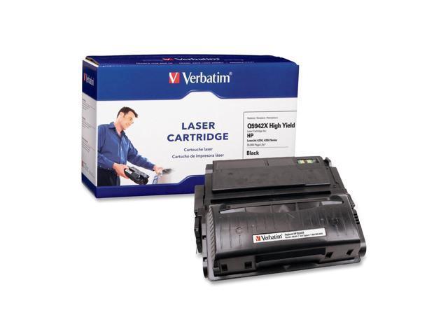 Verbatim 95383 Black Laser Cartridge For HP LaserJet 4250, 4350 Series