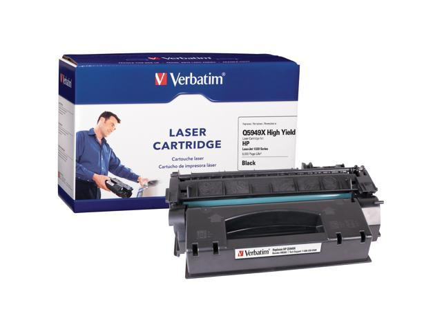 Verbatim 95385 Black Replacement Laser Cartridge For HP LaserJet 1320 Series