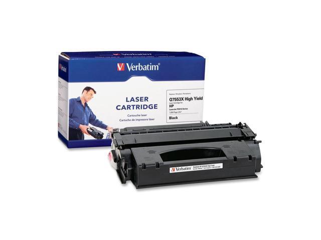 Verbatim 96458 HP Q7553X Replacement High Yield Laser Cartridge