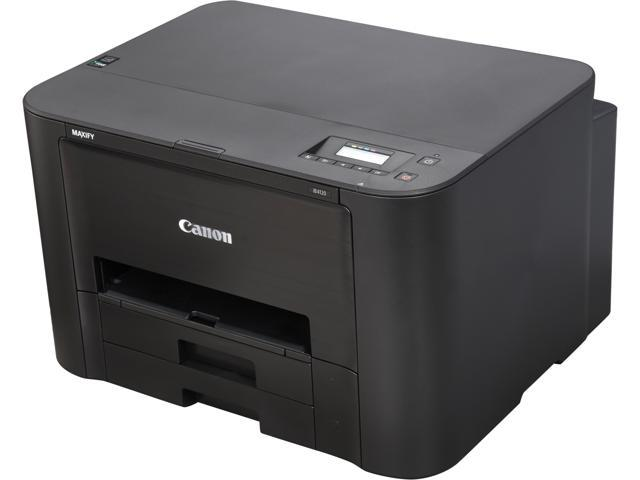 Canon MAXIFY iB4120 ESAT: 24.0 ipm Black Print Speed 600 x 1200 dpi Color Print Quality InkJet Workgroup Color Printer - Inkjet Printers