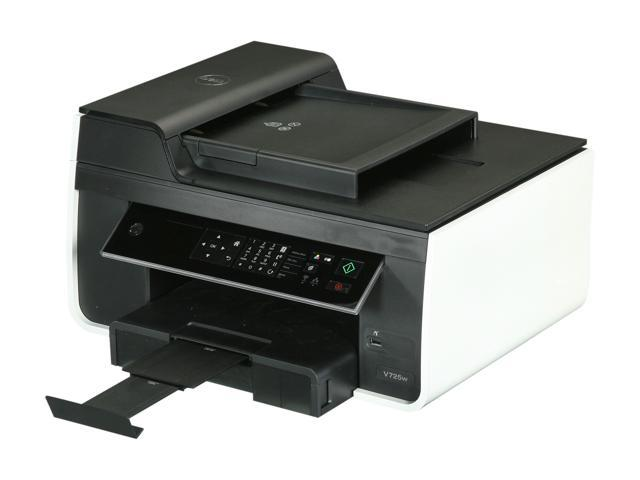 Dell Harbourville V725W Up to 35 ppm Black Print Speed 4800 x 1200 dpi Color Print Quality InkJet MFC / All-In-One Color Printer