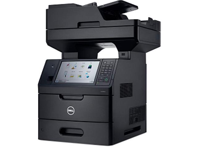 Dell B5465DNF Workgroup Up to 70 ppm (letter) and up to 66 ppm (A4)1 (Actual print speed vary with use) Monochrome Laser Printer