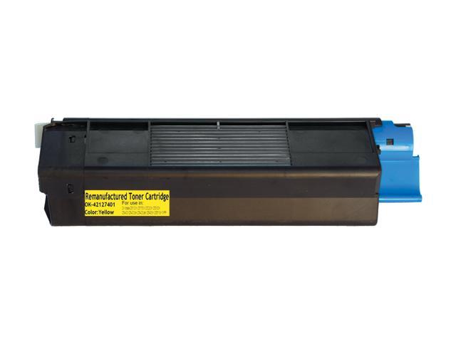 Rosewill RTCA-42127401 High Yield Yellow Toner Replaces Oki Data 42127401 42804502