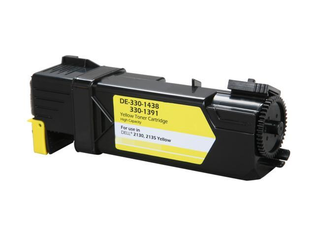 Rosewill RTCA-330-1438 (3301438) High Yield Yellow Toner Replaces Dell FM066 T108C 330-1438 330-1391