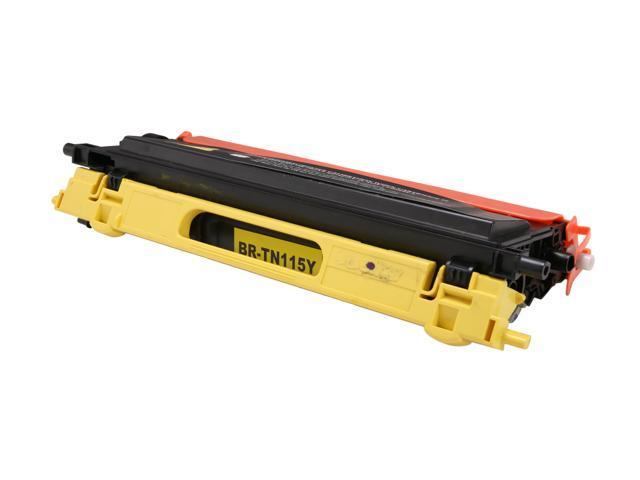 Rosewill RTCA-TN115Y2 High Yield Yellow Toner Replaces Brother TN-115Y TN115Y TN-110Y TN110Y