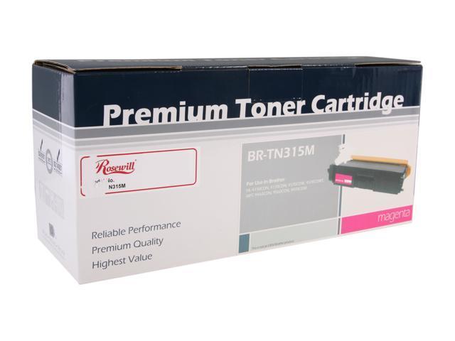 Rosewill RTCA-TN315M High Yield Magenta Toner Replaces Brother TN-315M TN315M TN-310M TN310M