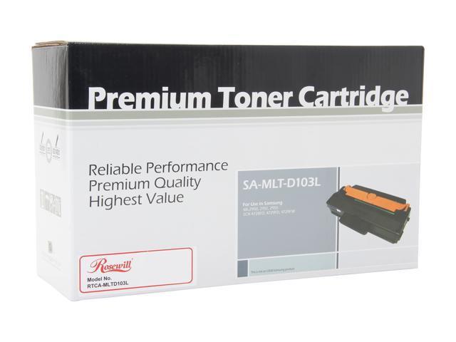 Rosewill RTCA-MLTD103L High Yield Black Toner Cartridge MLT-D103L MLT-D103S