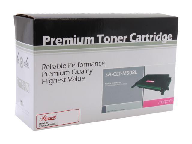 Rosewill RTCA-CLT-M508L (CLTM508L) High Yield Magenta Toner Replaces Samsung M508L CLT-M508L/XAA M508 CLT-M508S/XAA
