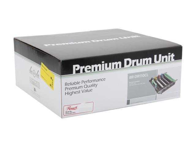 Rosewill RTCA-DR110CL Black Cyan Magenta Yellow Drum Replaces Brother DR-110CL DR110CL