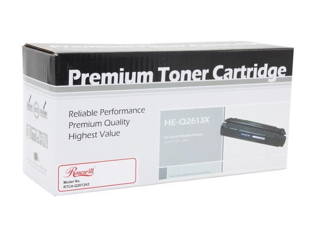 Rosewill RTCA-Q2613A2 Black High Yield Toner Cartridge replacement for HP Q2613A (13A)