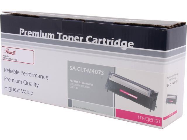 Rosewill RTCA-CLT-M407S/SEE (CLTM407S) Magenta Toner Replaces Samsung M407 CLT-M407S/XAA