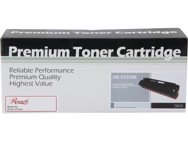 Rosewill RTCA-CF210X High Yield Universal Replacement Toner Cartridge for HP 131X CF210X 131A CF210A, and Canon 131 (6272B001); Black