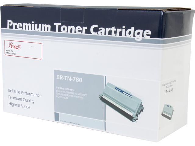 Rosewill RTCA-TN780 High Yield Black Toner Replaces Brother TN-780 TN780