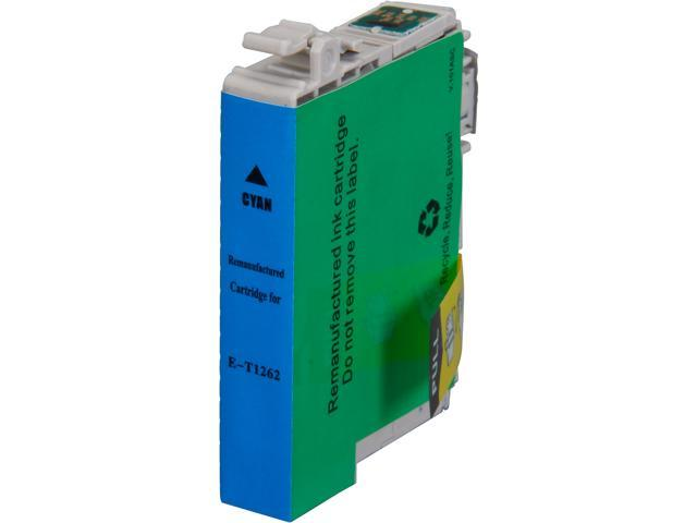 Rosewill RTCG-T126220 Cyan Pigment Based Ink Cartridge Replaces Epson 126 T126220