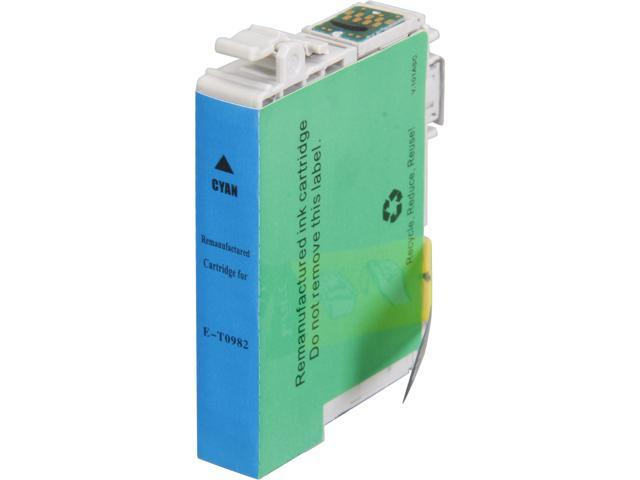Rosewill RTCG-T098220 Ink Cartridge (OEM# Epson T098220) 885 Page Yield; Cyan