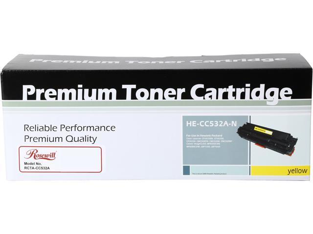 Rosewill RTCA-CC532A-C Yellow Toner Cartridge Replaces HP CC532A