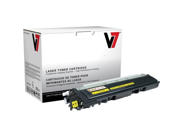 V7 TBY2TN210YH Replacement High Yield Toner Cartridge for Brother TN210Y (Yellow)