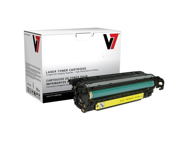 V7 THC23525 Replacement Toner Cartridge for HP CE251A (Cyan)