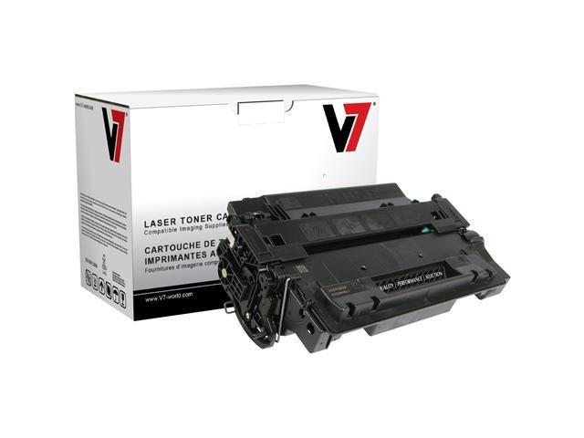 V7 THK255XH Replacement Toner Cartridge for HP CE255X (Black)