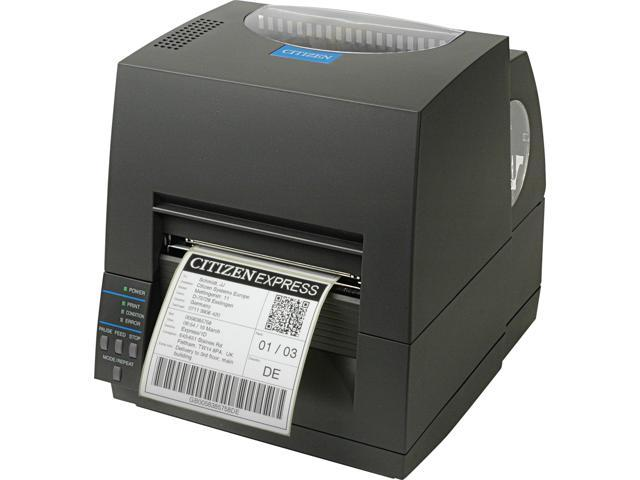 CITIZEN CL-S621 (CL-S621-GRY) Desktop Thermal Label Printer