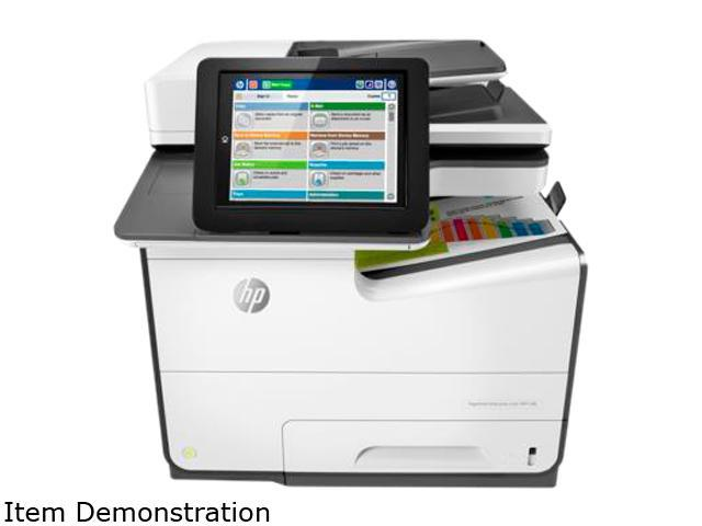 HP Color MFP 586dn (G1W39A#BGJ) Duplex 2400 x 1200 optimized dpi USB / Ethernet Color Inkjet MFP Printer