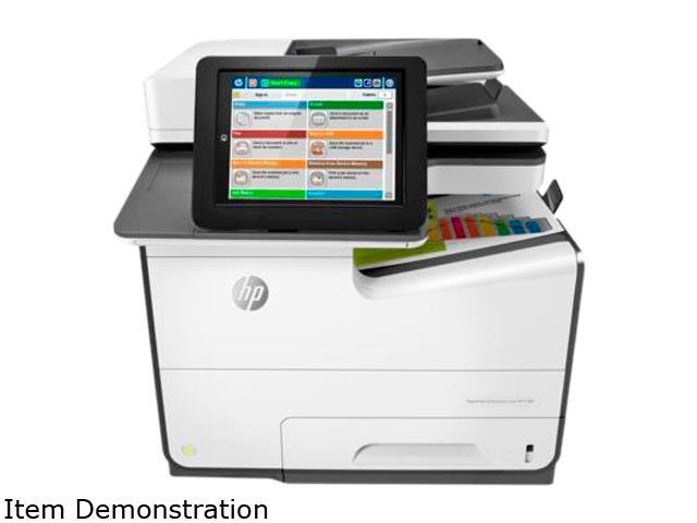 HP Color MFP 586f (G1W40A#BGJ) Duplex 2400 x 1200 optimized dpi USB / Ethernet Color Inkjet MFP Printer