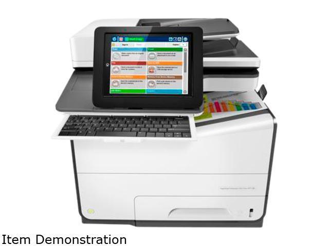 HP Color MFP 586z (G1W41A#BGJ) Duplex 2400 x 1200 optimized dpi USB / Ethernet Color Inkjet MFP Printer
