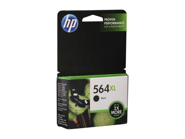 HP 564XL (CN684WN#140) Inkjet Print Cartridge Black