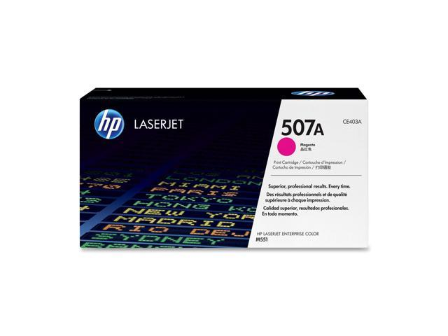 HP 507A Magenta LaserJet Toner Cartridge (CE403A)