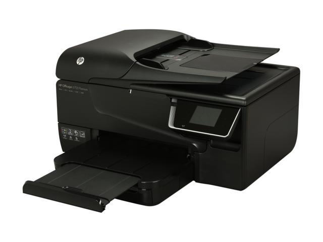 HP Officejet 6700 Premium Up to 34 ppm Black Print Speed 4800 x 1200 dpi Color Print Quality Wireless Thermal Inkjet MFC / All-In-One Color Printer