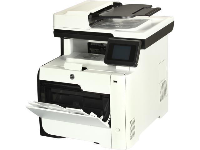 HP LaserJet Pro 300 color MFP M375 MFP Up to 19 ppm 600 x 600 dpi Color Print Quality Color Wireless 802.11b/g/n Laser Printer
