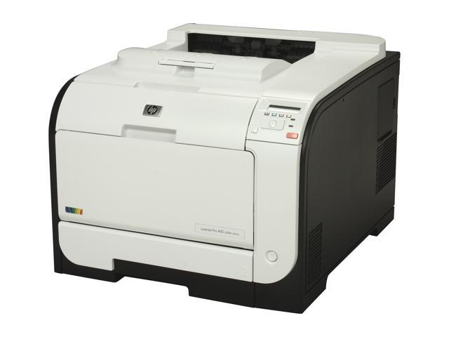 HP LaserJet Pro 400 M451dn (CE957A) Duplex Up to 21 ppm 600 x 600 dpi Workgroup Color Laser Printer