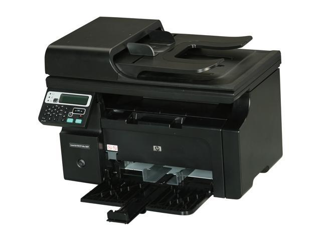 HP LaserJet Pro M1217nfw CE844AR#BGJ MFC / All-In-One Up to 19 ppm Monochrome Wireless 802.11b/g/n Laser Printer