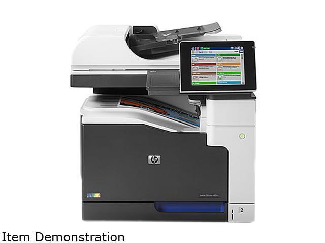 HP LaserJet Enterprise 700 M775dn (CC522A) Up to 30 ppm 600 x 600 dpi Duplex Color Laser MFP Printer
