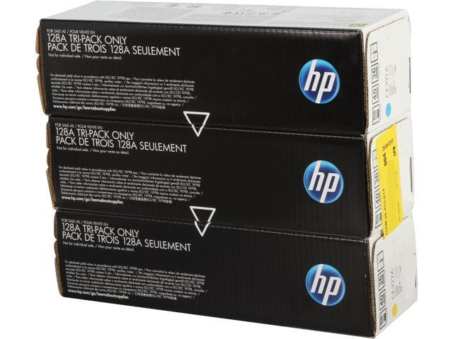 HP CF371AM Tri-Pack LaserJet Toner Cartridge 3 Colors