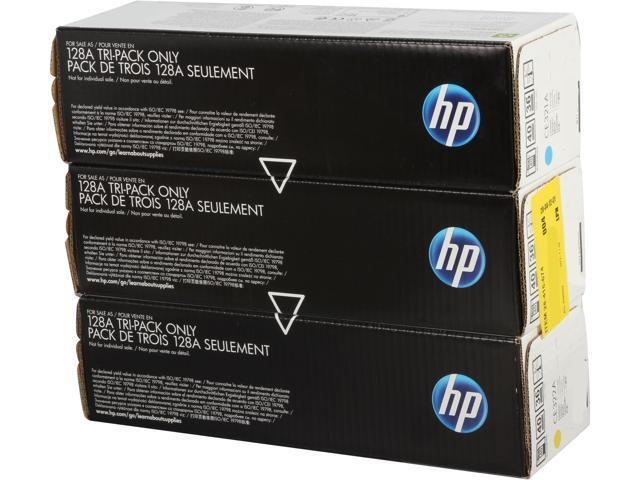 HP CF371AM Tri-Pack LaserJet Toner Cartridge 3 Colors