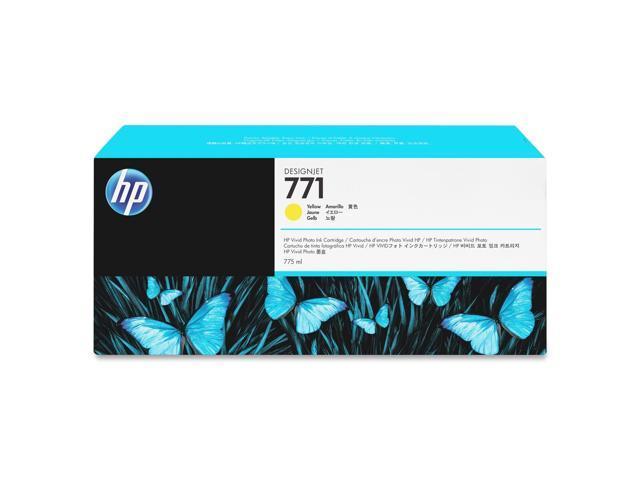 HP B6Y18A HP 771A 775ML Yellow Ink Cartridge