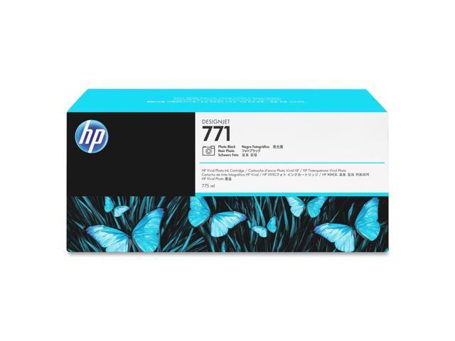 HP B6Y21A 771A 775-ml Photo Black Designjet Ink Cartridge