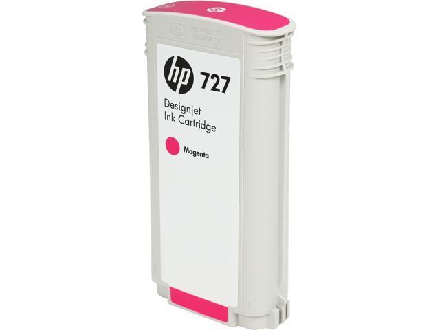 HP B3P20A 727 130-ml Magenta Designjet Ink Cartridge Magenta