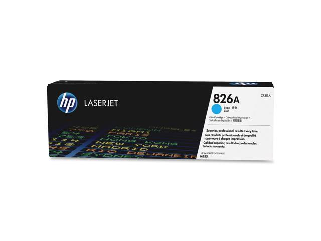 HP 826A (CF311A) Cyan Original LaserJet Toner Cartridge